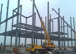 大型钢结构厂房